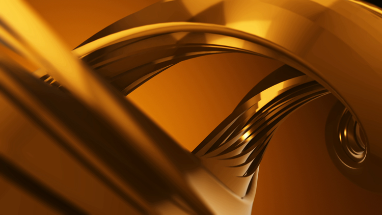 Gold spiral
